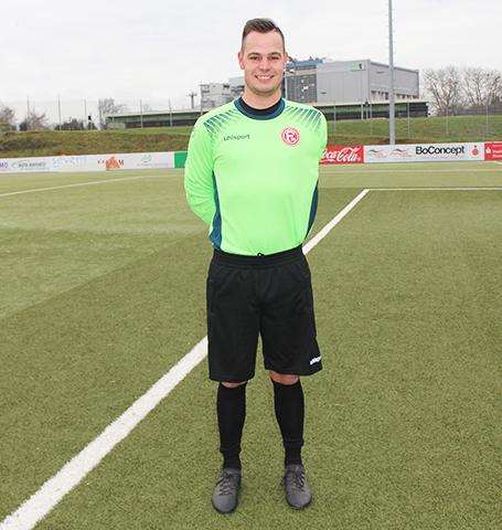 Düsseldorf Spieler Dominik van Kann