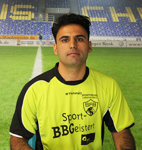 Braunschweig Spieler Hamed Sagar