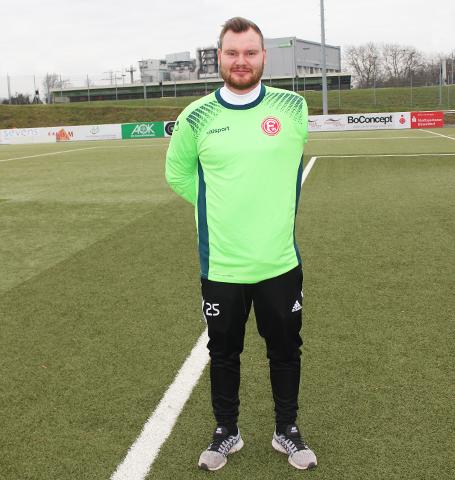 Düsseldorf Spieler Kajetan Skotnicki
