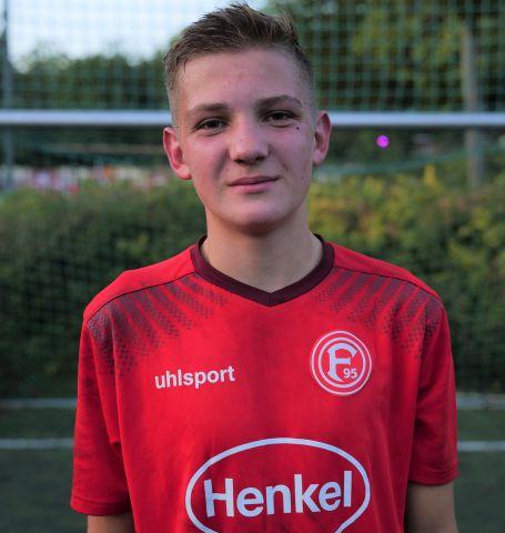 Düsseldorf Spieler Jonas Lappe