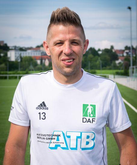 Einzelportrait Nationalspieler Christian Heintz