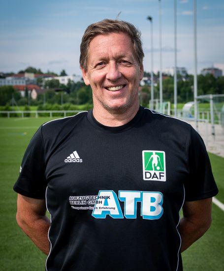 Einzelportrait Torwarttrainer Markus Junker